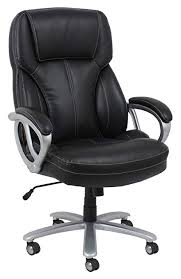 black leather office chair. Brilliant Leather Essentials Big And Tall Leather Executive Chair  High Back Office  With Arms Black In