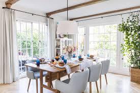Emily Henderson Modern English Cottage Tudor Kitchen Dining Room Reveal 6