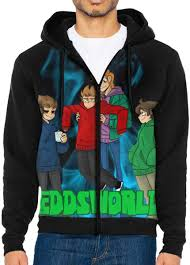 Mix & match this shirt with other items to create an avatar that is unique to you! Amazon Com Edd S World Men S Jacket Printed Hoodie Sweatshirt Full Zip Casual Hat Pocket Pullover Sweater