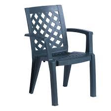 plastic garden chair erguvan dark