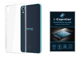 HTC Desire 626 Transparent Back Cover ...