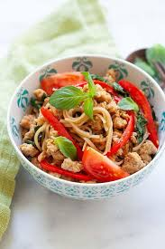 drunken noodles pad kee mao rasa