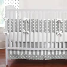 pure gold dot crib bedding nursery carousel designs french gray and