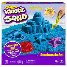 the one and only kinetic sand sandcastle set