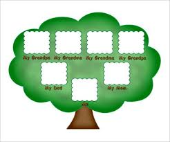 Sample Of Family Tree Chart Kids Family Tree Template 10 Free Sample Example Format