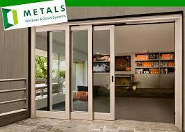 ordinary aluminum exterior door 1 4 panel sliding glass patio 4 panel glass exterior door