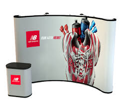 Free Standing Display Boards For Trade Shows Trade Show Displays Booths Exhibits Pop Up Table Top at 66
