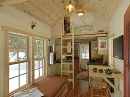 The Interior View Of The Tiny House On Wheels . Photo Gallery