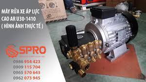 Máy rửa xe áp lực cao Urali nhập khẩu chính hãng từ Italia - Máy rửa xe cao  áp - áp lực cao