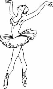Small Picture Ballerina Coloring Pages For Girls Coloring Pages Printable