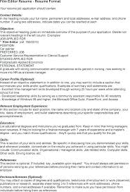 cv video template sample resume template download putasgae info