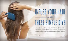 infuse your hair with these simple diys