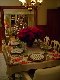 christmas centerpieces for round tables. Red Curtains With Floral Brown Round Table Cloth: Lovely Florals Square Christmas Centerpieces For Tables O