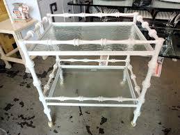 bamboo bar cart. Bamboo Bar Cart Faux For Sale .