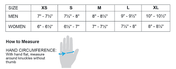 Hand Gloves Size Chart Adults Glove Size Chart Sport Obermeyer