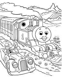 Trein Kleurplaat