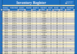 Inventory Management Excel Template Free Download Inventory Excel