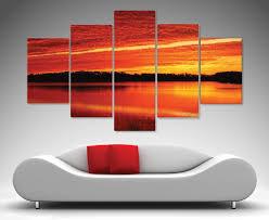 morning flames 5 panel wall art canvas prints australia on large canvas wall art australia with wall art canvas australia elitflat