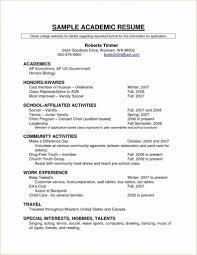 Grad School Resume Template Cv For Graduate Www Buzznow Tk Objective