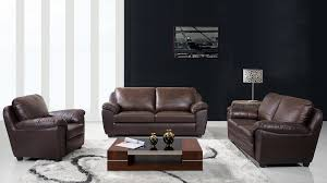 Italian Living Room Furniture Sets Abbyson Living Sedona 3 Piece Leather Sofa Set Italian Living