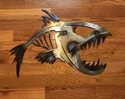 metal fish wall art