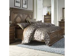 Liberty Furniture Bedroom Liberty Furniture Amelia Traditional King Panel Bed With Heavy