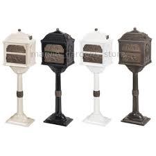 Decorative Mail Boxes GAINES CLASSIC SERIES MAILBOX DECORATIVE CAST MAIL BOX W ANTIQUE 4