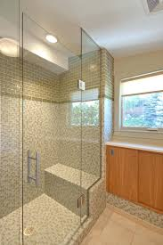 shower doors beveled glass