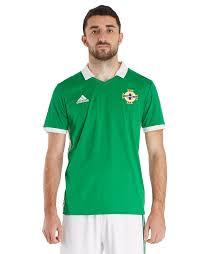 2018 Adidas Northern Ireland Jd Sports 19 Home Shirt