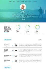 top resume website templates in wordpress personage easy setup cv resume