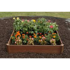Kitchen Garden Trough Raised Garden Beds Garden Center Outdoors The Home Depot