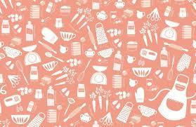 cake pattern wallpaper. Exellent Pattern Orange Carrot Cake Baking Wallpaper Mural To Pattern
