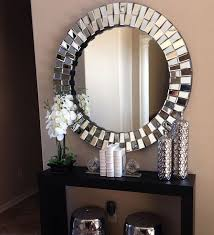 gracey round wall mirror by venetian design