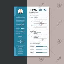 Professional Design Resume Professional Cv Resume Templates With Super Clean And Modern