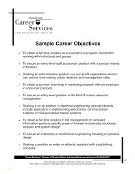 10 Example Of Career Objective For Resume Resume Samples