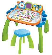 com vtech touch and learn activity desk frustration free packaging toys