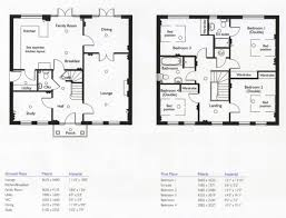 4 Bedroom Floor Plans Amazing 4 Bedroom House Floor Plans Home