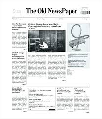 Where Can I Find A Newspaper Template Digital Tabloid Newspaper Template For Indesign Front Page Editable