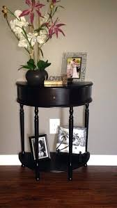 half round end tables small half round foyer e half circle entryway on half round foyer half round end tables