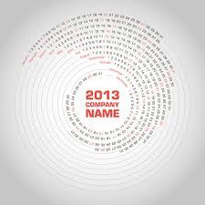 creative calendar. Interesting Creative 2013 Creative Calendar Collection Design Vector Material 07 And T