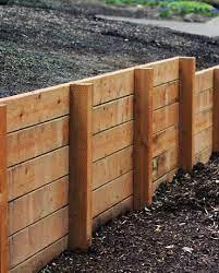 wooden retaining walls in queensland