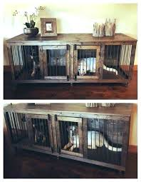 How to make a dog crate Dog Kennel Dog Cage Furniture Dog Furniture Crate Double Dog Crate Furniture Indoor Dog Crate Furniture Dog Furniture Hot Trending Now Dog Cage Furniture The Home Ideas