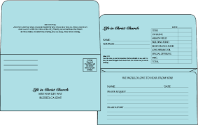 Donation Envelope Envelopes Direct
