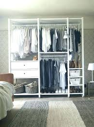 bedroom with no closet small ideas without