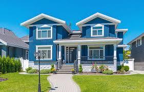 blue exterior paintExterior Painting  Stucco Repairs  Garden Grove CA