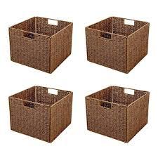 Decorative Fabric Storage Boxes Decorative Fabric Storage Boxes Storage Bins Cheap Grey Canvas 18