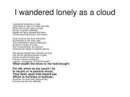 i wandered lonely as a cloud essay sparknotes wordsworths poetry i wandered lonely as a cloud essay i wandered lonely as a
