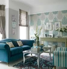 Living Room Amazing Image Of Blue Living Room Decoration Using