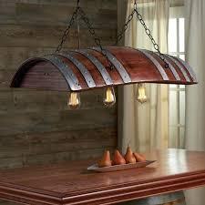 wine barrel chandeliers reclaimed
