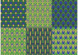 Peacock Pattern Gorgeous Peacock Pattern Free Vector Art 48 Free Downloads